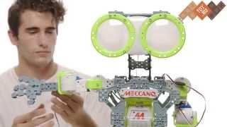 Подключение электронных компонентов к роботам Meccanoid - видеоинструкция Meccano