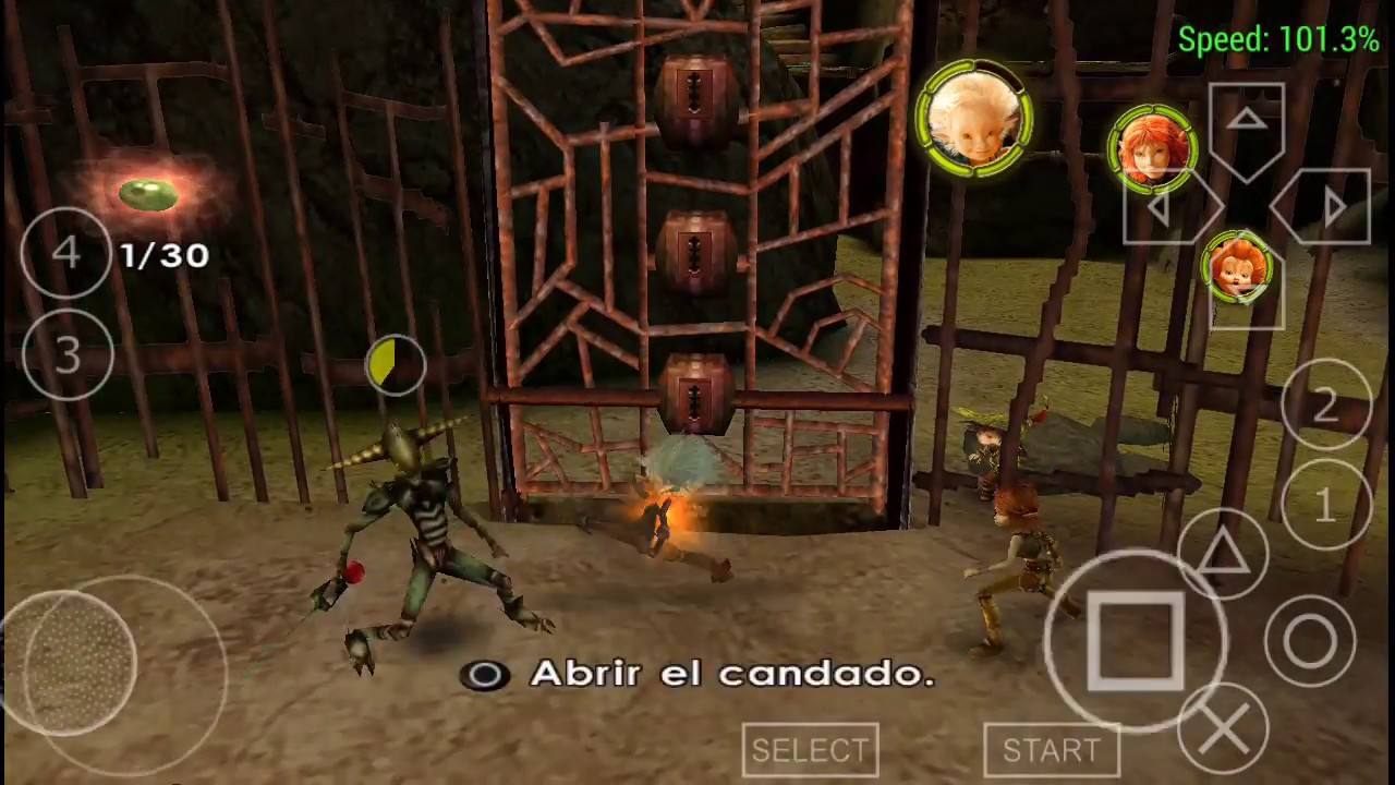 Arthur & the Invisibles 720p gamesplay ppsspp gold emulator - YouTube