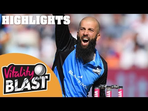 Notts v Worcestershire - Highlights | INCREDIBLE 1 Run Finish in 1st Semi! | Vitality Blast 2019