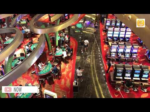 Casino at Singapore || Biggest Casino in Singapore stands in Marina Bay Sands Shopping Mall
