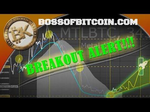 Metal MTL Breakout Soon! ⭐  BossofBitcoin.com | Bitcoin Price 15K 2018