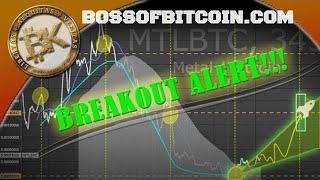 Metal MTL Breakout Soon! ⭐  BossofBitcoin.com   Bitcoin Price 15K 2018
