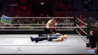 WWE Royal Rumble 2014 Big Show vs Brock Lesnar Full Match Pg