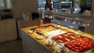 Завтрак в отеле Nelia Garden Кипр
