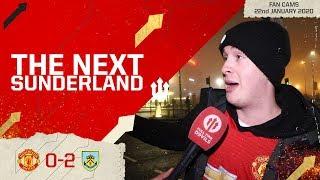 UNITED 'TIL I DIE! Man Utd 0-2 Burnley Fan Cam