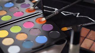 All-Access Fashion Week Pass: Twinkling Technicolour Eyes from Jeremy Scott SS20 | MAC Cosmetics