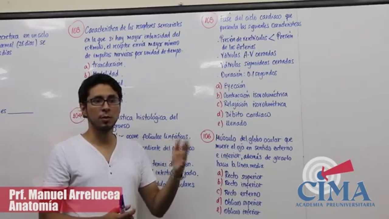 Resolución de las preguntas del examen de admisión 2015 - II UNPRG ...