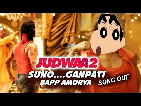 Shinchan Cartoons - Dancing on | Suno Ganpati Bappa Morya | Judwaa 2
