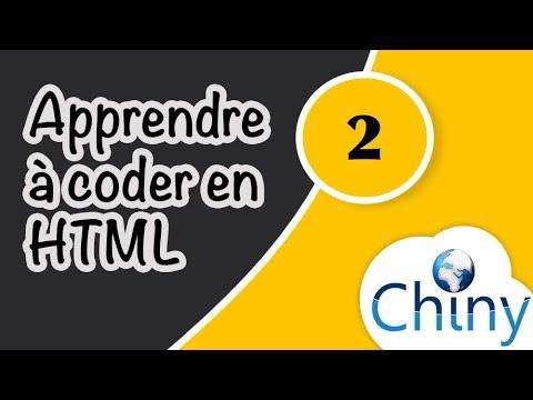 Apprendre Le HTML (2/4) - Balises Sémantiques Et Tableaux