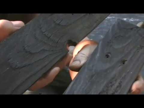 Technique japonaise du bois brulé ou Shou - Sugi - Ban …………. Kastepat