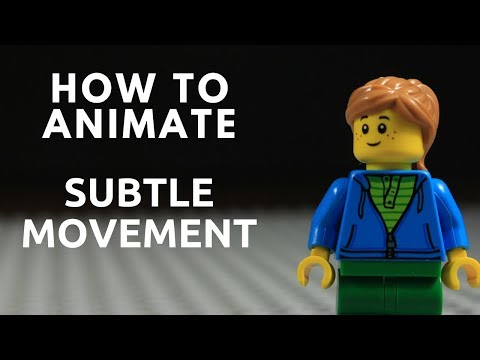 How to Animate Subtle Movement  Stop...