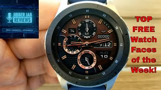 TOP FREE Must See & Must Download Samsung Galaxy Watch/Gear S3 Watch Faces! - Jibber Jab Reviews!
