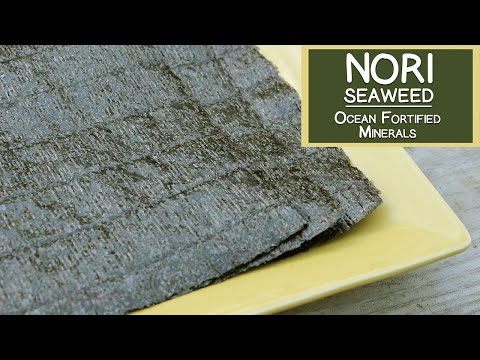Nori Seaweed, An Ocean Fortified Dietary Supplement