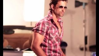 Hrithik photoshoots for an audio system brand
