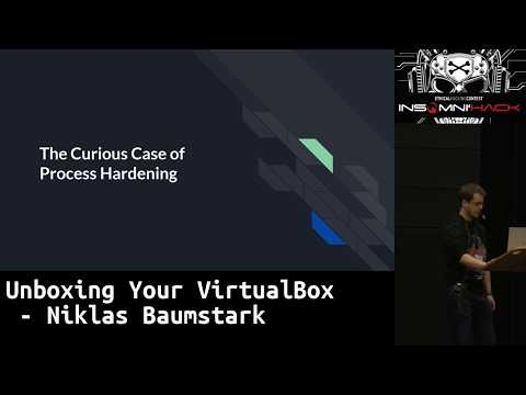 Unboxing your virtualBox - Niklas Baumstark