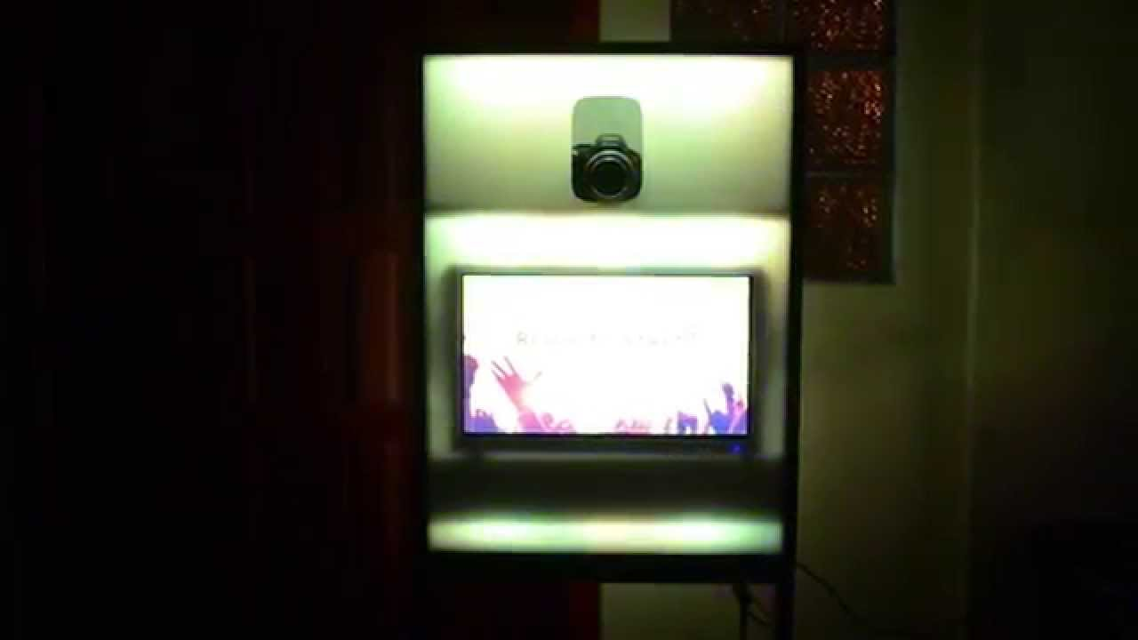 Custom made compact and fold-able photo booth setup with LED lights & Custom made compact and fold-able photo booth setup with LED ... azcodes.com
