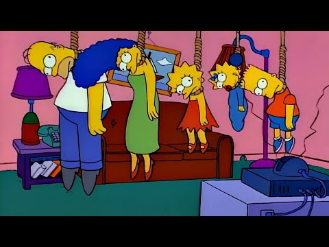 Every Death In The Simpsons Treehouse Of Horror (1-31)