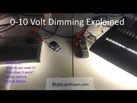 0-10V dimming Explained - What is 0-10 volt dimming? How does it work?  Installation of 0-10v - YouTubeYouTube