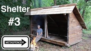 Backwoods Shelter Construction Part 3