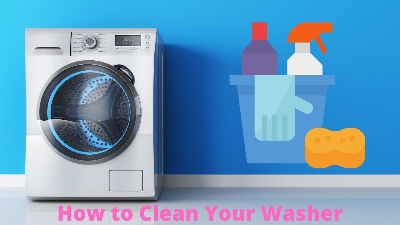 How to clean washing machine with vinegar and baking soda