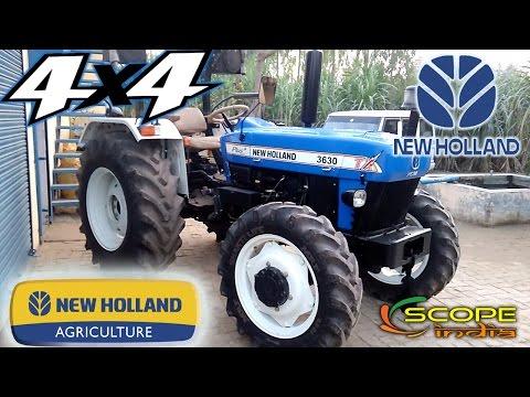 New Holland 3630 4x4 Model 2017  Nova Tx