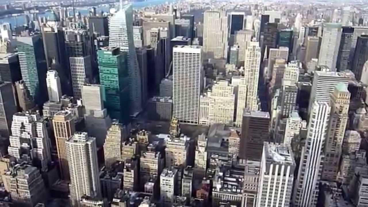 video de manhattan desde edificio empire state estados unidos
