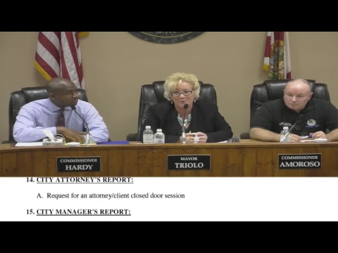 City of Lake Worth Commission Meeting (Feb 6, 2018)