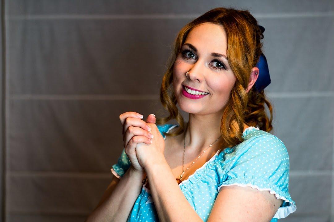 Wendy Darling Makeup Tutorial