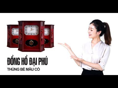 Chi Tiết Đồng Hồ Treo Tường Thùng Bè Phong Cách Châu Âu - DP 201