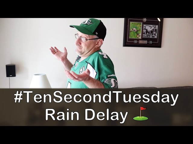 Rain Delay ⛳️: #TenSecondTuesday