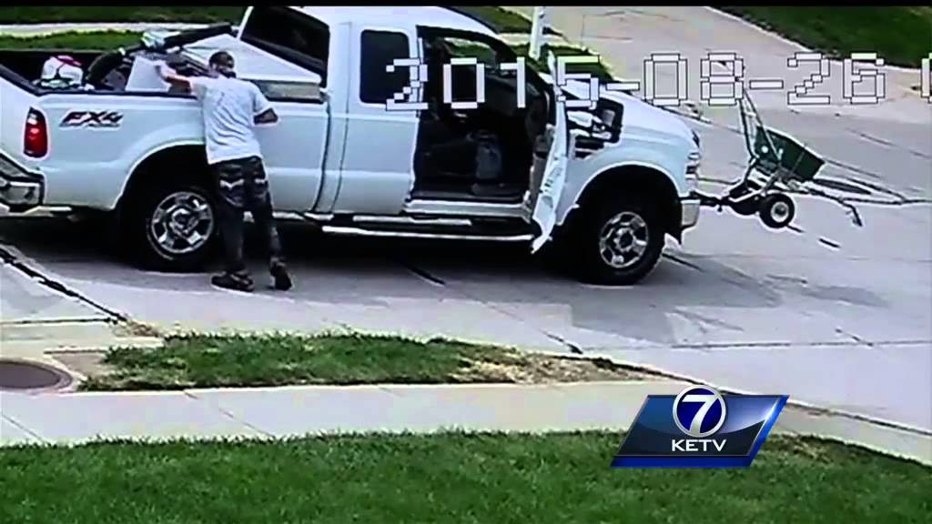 teens lawn mowing sign stolen family wants answers