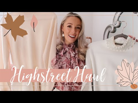 AUTUMN HIGHSTREET HAUL & TRY ON // Affordable Fall Edit // #FashionMumblrAutumnEdit