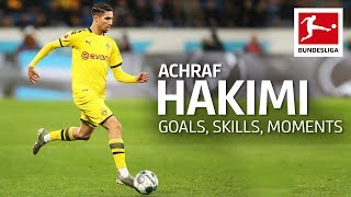 Best of Achraf Hakimi - Best Goals, Assists & Super Speed