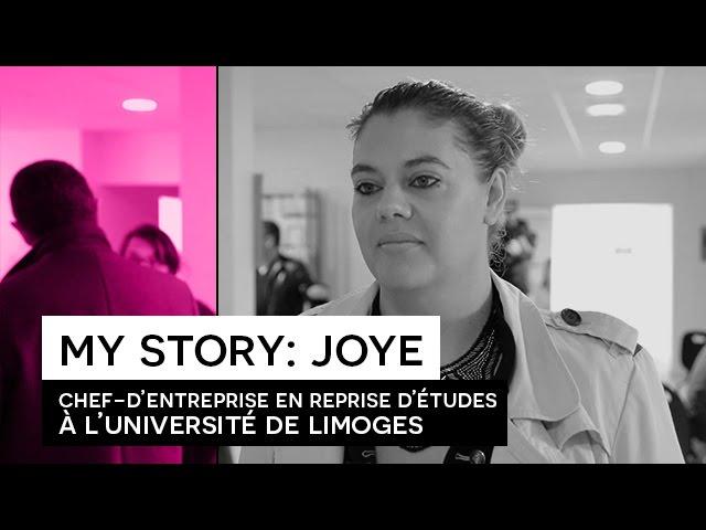 People Say - Joye FEURAY nous parle de sa reprise d'études