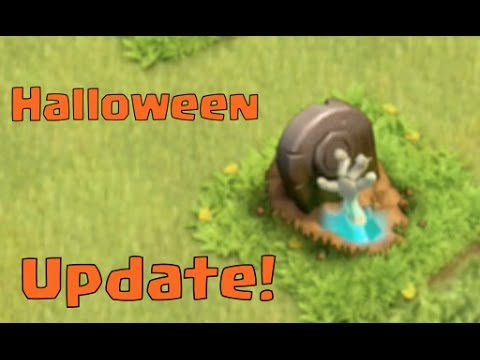 Clash Of Clans Update - Halloween Is Coming - Sneak Peek!