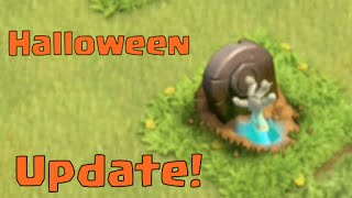 Clash of Clans Update - Halloween is Coming - Sneak Peek!