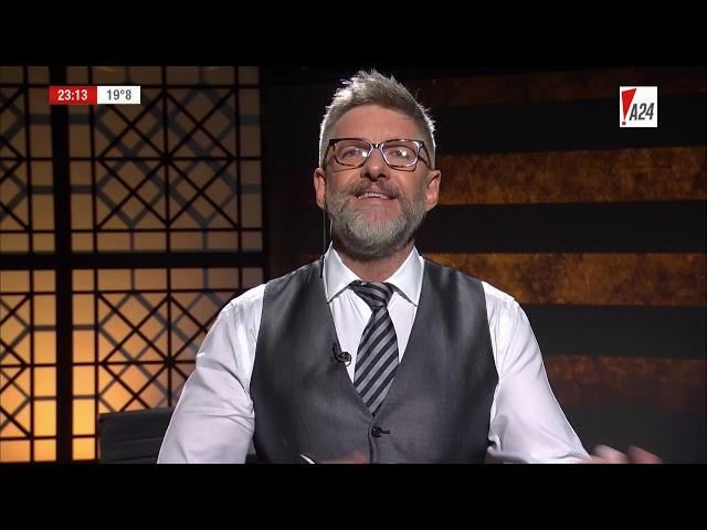 LNE | LUIS NOVARESIO ENTREVISTA - CLAUDIO ZUCHOVICKI Y CLARA SALGUERO