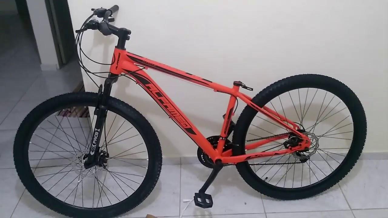 8ab4e4c1d Minha Bike Alfameq Supreme - YouTube