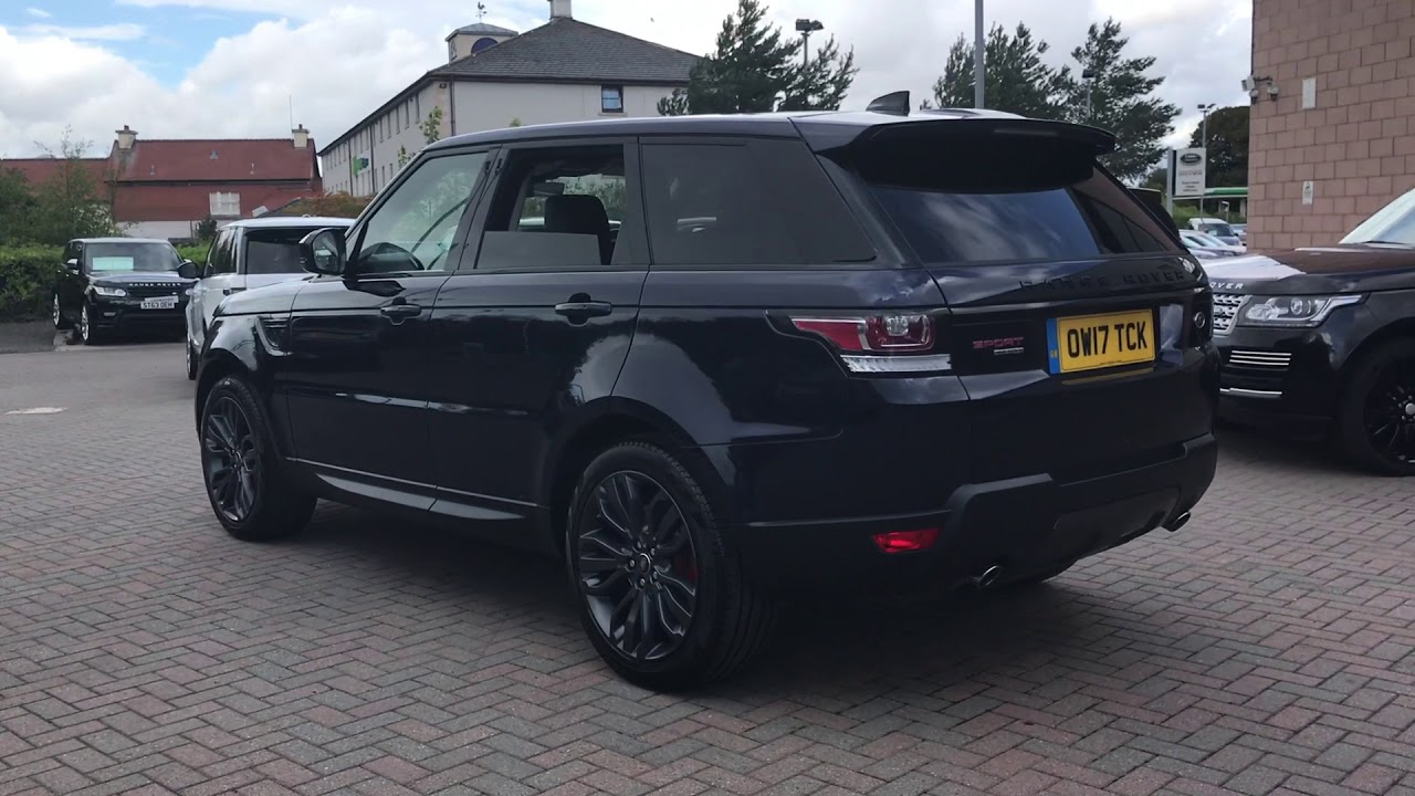 range rover sport ow17tck youtube. Black Bedroom Furniture Sets. Home Design Ideas