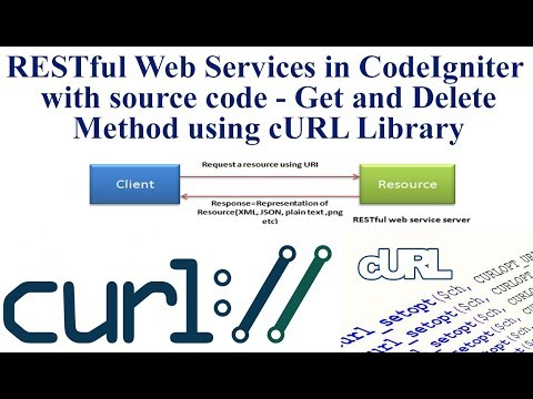 RESTful Web Services in CodeIgniter with source code - Get