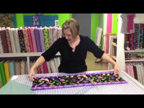10 minute table runner youtube. Black Bedroom Furniture Sets. Home Design Ideas