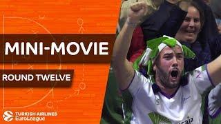 Turkish Airlines EuroLeague Regular Season Round 12: Mini-Movie