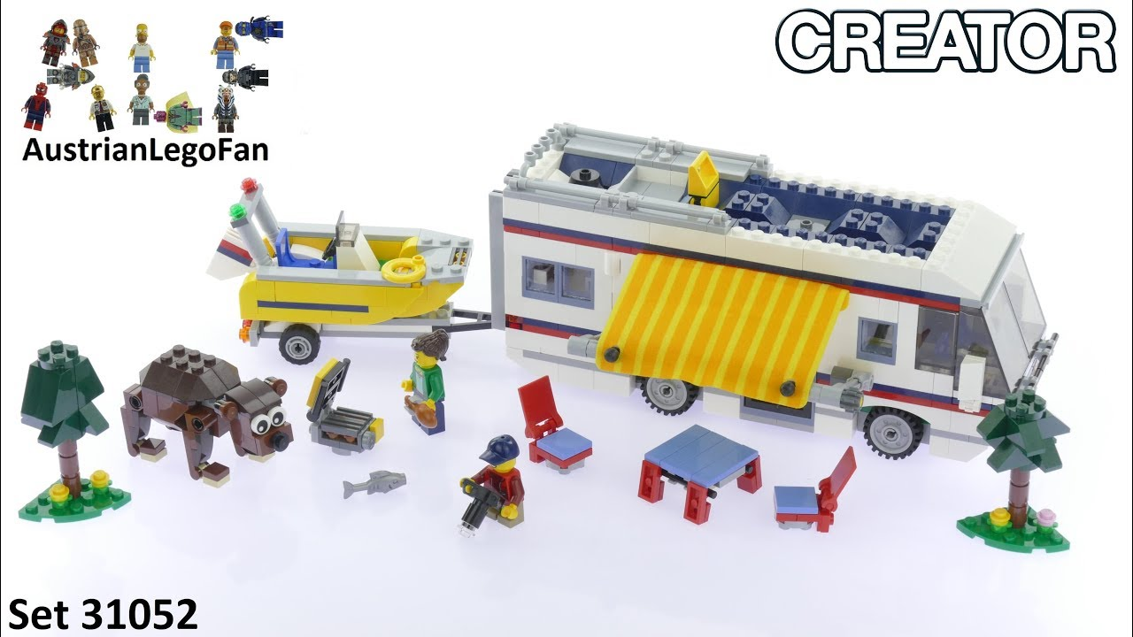 how to build lego rv