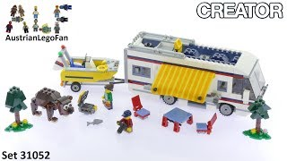 Lego Creator 31052 Vacation Getaways Model 1of3 - Lego Speed Build Review