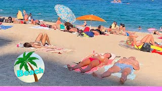 Download BEACH WALK Catalonia SPAIN 4k video COSTA BRAVA travel vlog