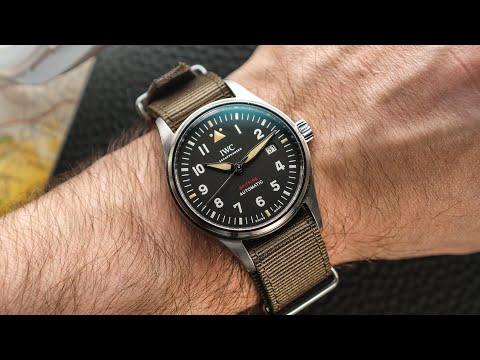 Hands-On: IWC Pilot's Watch Automatic Spitfire Vs Mark XVIII