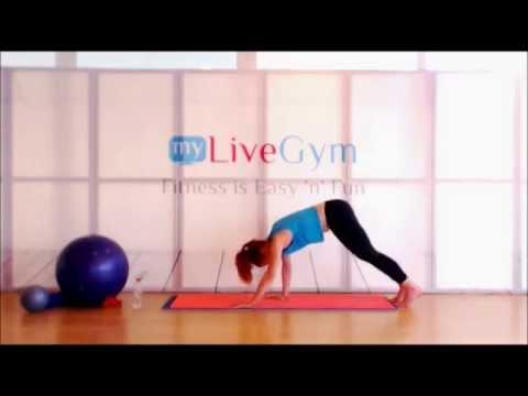 Pilates στο σπίτι για προχωρημένους στο mygymgr