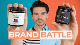 Shear Revival Northern Lights vs. O'Douds Matte Paste | Brand Battle