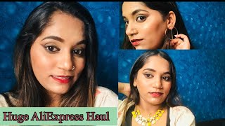 Huge AliExpress Haul 2020 | Jewellery Haul | Safe Or Not ? | Beauty by Ekta |