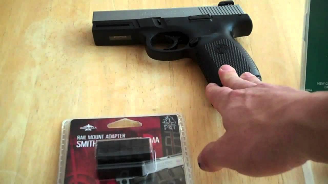 Laser Rail Sight for 9mm Pistol Review